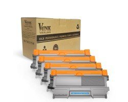 Brother TN450 TN420 Compatible Toner Cartridge-4 Pack
