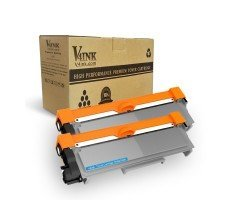 Brother TN630 TN660 Compatible Toner Cartridge - 2 Packs