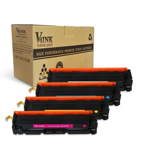 Canon CRG 046 KCMY Compatible Toner Cartridge - 4 Pack...