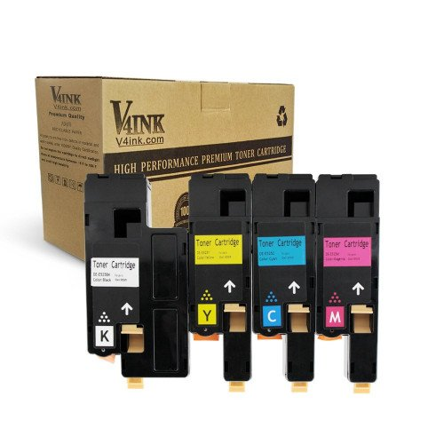 4 Pack 1250 Color Toner Set for Dell Laser 1250 1250c 1350cnw 1355cn 1355cnw