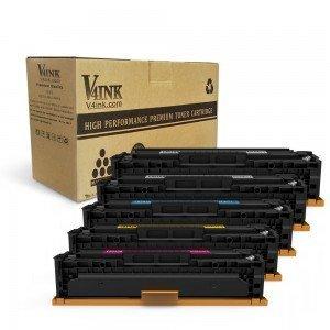 HP CB540A CB541A CB542A CB543A (125A) Compatible Toner Cartr