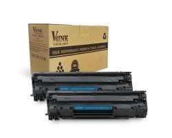 HP CE278A/305A Compatible Toner Cartridge - 2 Packs