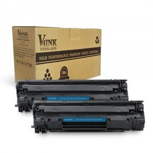 HP 78A CE278A Compatible Toner Cartridge - 2 Packs