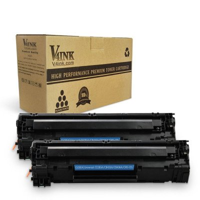 CE285A 85A Compatible Toner Cartridge - 2 Packs
