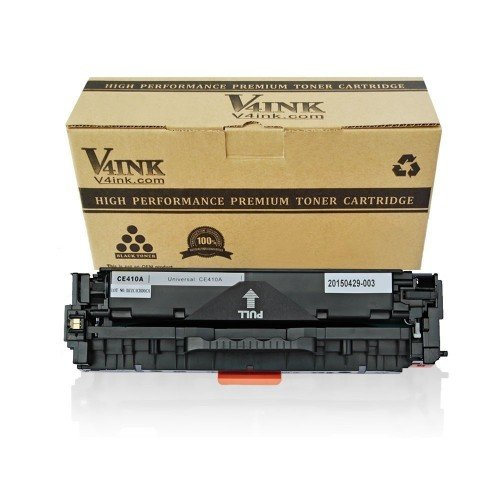 HP 305A/CE410A Compatible Toner Cartridge - 1 Pack, Bla...