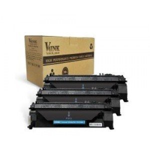 HP CE505A 05A Compatible Toner Cartridge - 3 Pack
