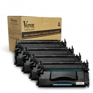 HP CF226X Compatible Toner Cartridge - 4 Packs