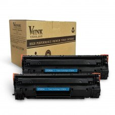 HP CF283A 83A Compatible Toner Cartridge - 2 Packs