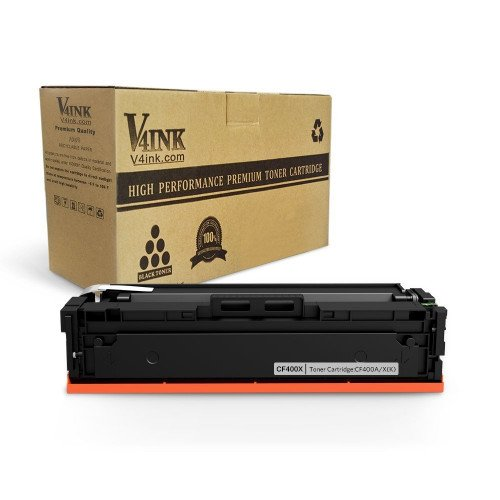 HP CF400X/201X Compatible Toner Cartridge - 1 Pack, Bla...