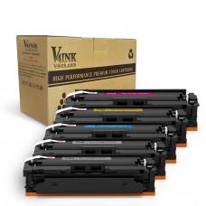 HP CF410A Compatible Toner Cartridge - 5 Packs
