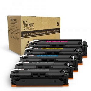 HP CF410A Compatible Toner Cartridge - 5 Packs