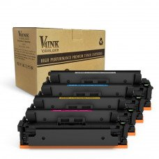 HP CF410X Compatible Toner Cartridge - 4 Packs