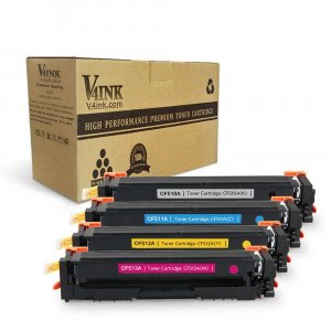 HP CF510A Compatible Toner Cartridge - 4 Pack
