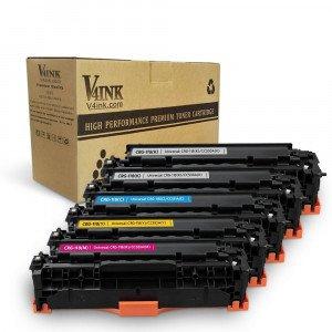 Canon  118 Compatible Toner Cartridge Set 5 Pack (2Black+Cya