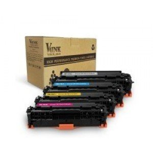 Canon  118 Compatible Toner Cartridge Set 4 Pack (Black+Cyan