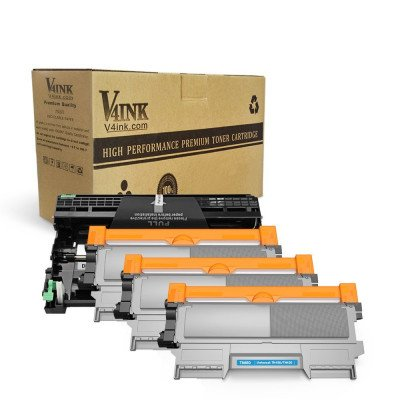 Brother DR420 Drum Unit+TN450 TN420 Toner Cartridge (3Toner + 1Drum)