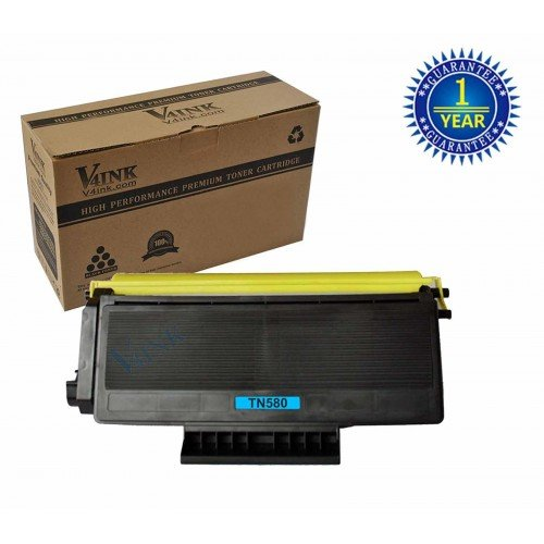 Brother TN580 High Yield Compatible Toner Cartridge...