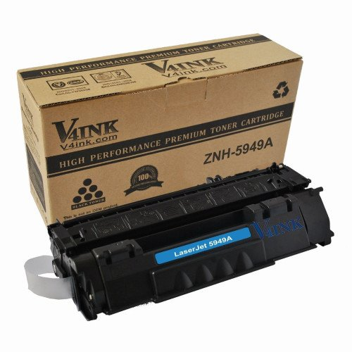 HP Q5949A 49A Compatible Toner Cartridge - 1 Pack...