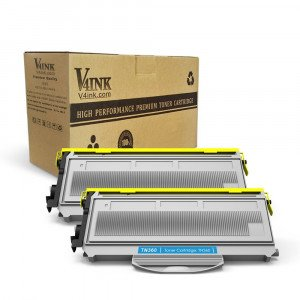 Brother TN360 TN330 Compatible Toner Cartridge - 2 Packs