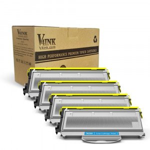 Brother TN360 TN330 Compatible Toner Cartridge - 4 Packs