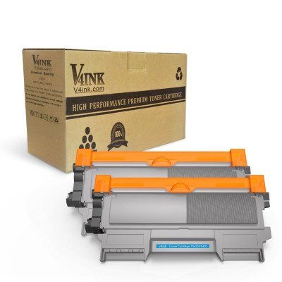 Brother TN450 TN420 Compatible Toner Cartridge-2 Pack
