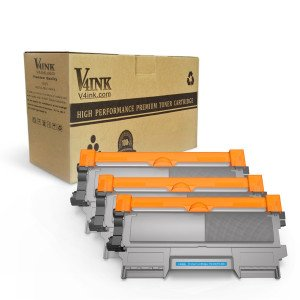 Brother TN450 TN420 Compatible Toner Cartridge - 3 Packs