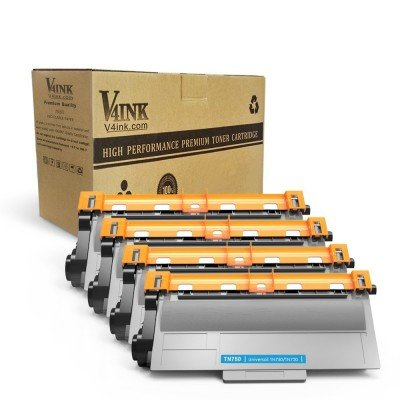 Brother TN720/TN750 Compatible Toner Cartridge - 4 Pack