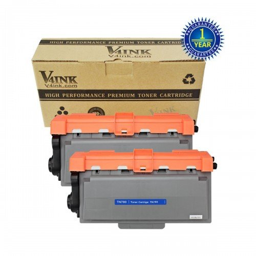 Brother TN780 Compatible Toner Cartridge - 2 Pack...