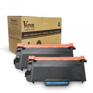 Brother TN850 TN820 Compatible Toner Cartridge - 2 Packs