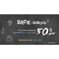 A list of popular toner products at Back to School Season