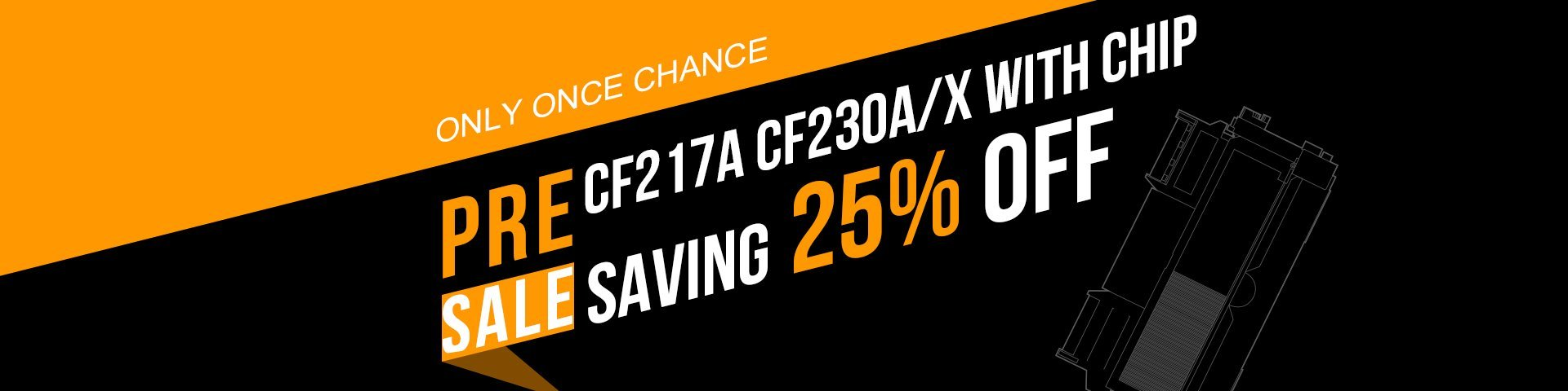 CF217A CF230A/X PRE-SALE