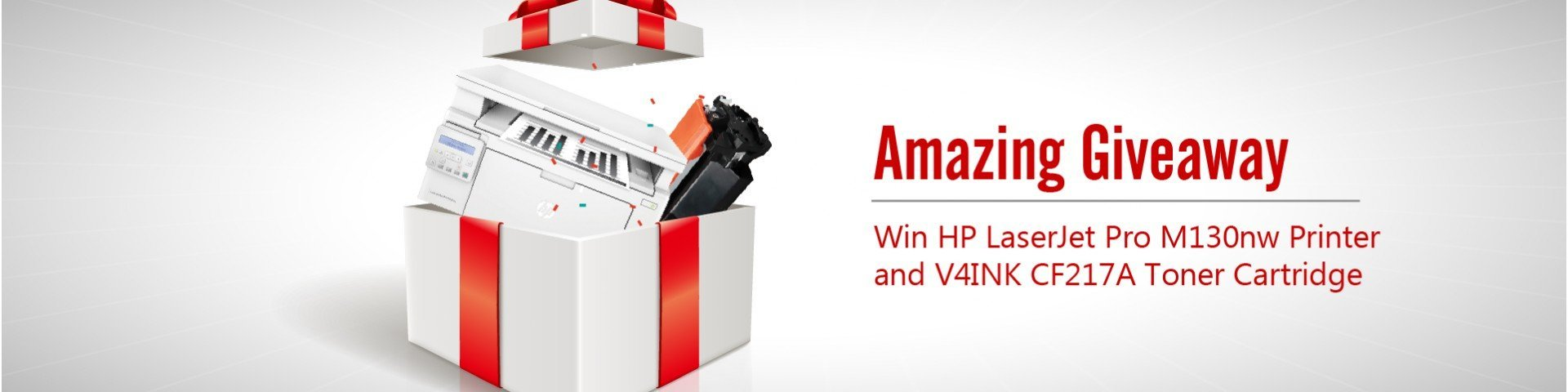 HP Printer and CF217A giveaway