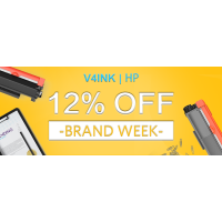 V4ink Brand Week Savings 12% for All Hp Products