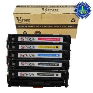 Canon CC530A Compatible Toner Cartridge-5 pack