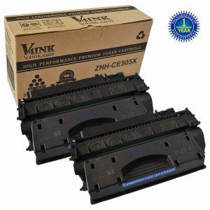 HP CE505X Compatible Toner Cartridge - 2 Packs