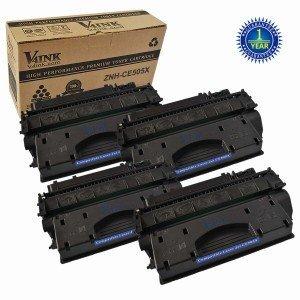 HP CE505X 05X Compatible Toner Cartridge - 4 Pack