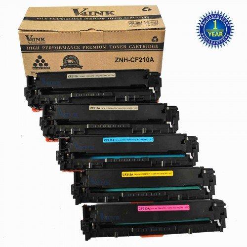 HP CF210A Compatible Toner Cartridge - 5 Packs...