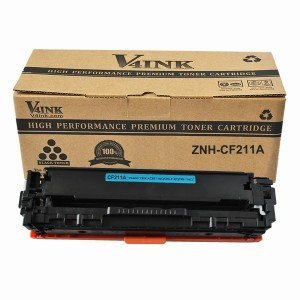 HP CF211A Compatible Toner Cartridge - 1 Pack, Cyan