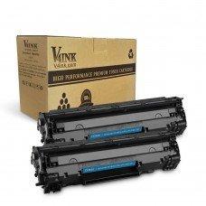 HP CF283X Compatible Toner Cartridge - 2 Packs