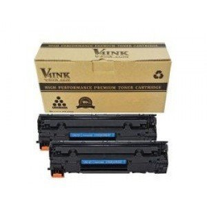 HP CF283X Compatible Toner Cartridge - 2 Packs