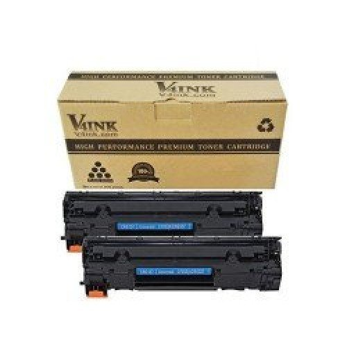 HP CF283X Compatible Toner Cartridge - 2 Packs...
