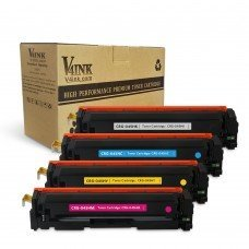 Replacement for Canon 045H Toner Cartridge Black Cyan Magenta Yellow 4 Pack