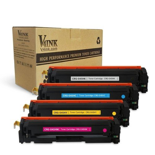 Replacement for Canon 045H Toner Cartridge Black Cyan M...