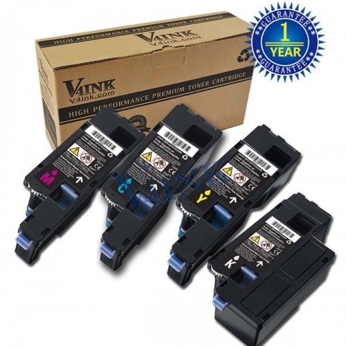 DELL 1250 Compatible Toner Cartridge - 4 Packs...