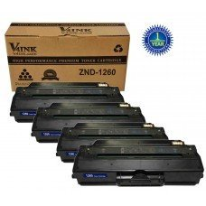 Dell 1260 Compatible Toner Cartridge - 4 Packs
