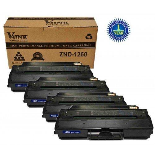 Dell 1260 Compatible Toner Cartridge - 4 Packs...