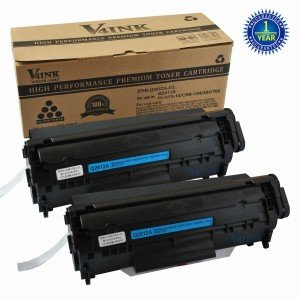 HP Q2612A Compatible Toner Cartridge - 2 Packs