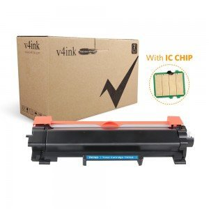 V4INK Compatible Toner Cartridge Replacement for Brother TN7